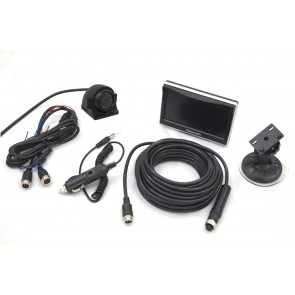 "5"" Monitor & Side View Camera System"