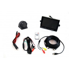 "7"" Monitor & Side View Camera System"