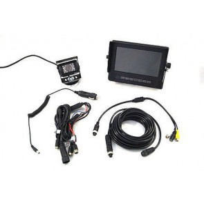 "7"" Monitor & Weatherproof Camera System"