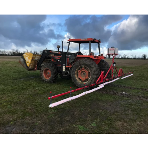 30' Weed Wiper 3 Point Hitch Mount