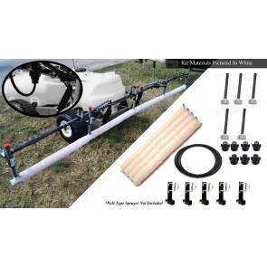 10' Weed Wiper Self-Propelled Sponge Kit