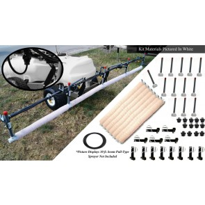 20' Weed Wiper Self-Propelled Sponge Kit
