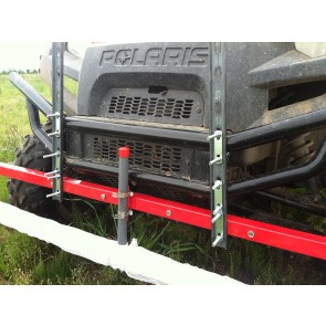 Weed Wiper UTV Front Mounting Brackets