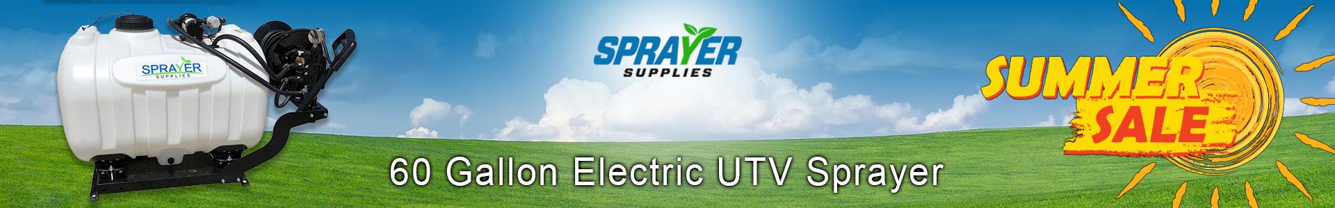 60 Gallon UTV Sprayer