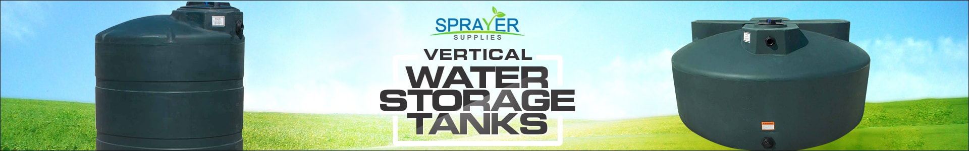 plastic water storage tanks